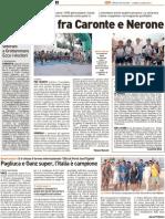 Straducale tra Caronte e Nerone - Il Resto del Carlino del 2 luglio 2012