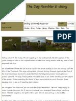 The Dog Rambler E-diary 03 July 2012