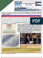COESGR Newsletter July 2012