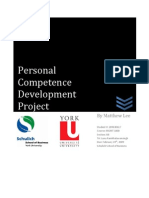 Personal Competence Devleopment Project2