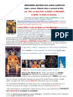 A VERDADEIRA HISTÓRIA DO JOGOS OLÍMPICOS