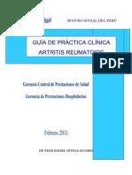Guia Artritis Reumatoideo 2011