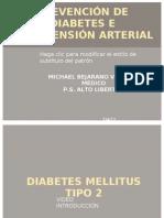 PREVENCIÓN DE DIABETES E HIPERTENSIÓN ARTERIAL