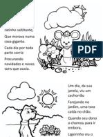 O Ratinho, Ligeirinho - Livro Para Colorir