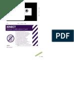 Kinect Calibration Card