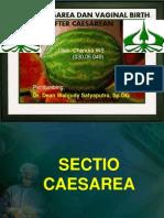 Sectio Caesarea Dan Vaginal Birth After Caesarean Chandra