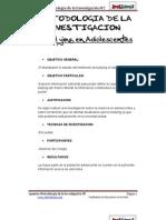 Metodologia de La Investigacion-Bullying en Adolecentes en PDF