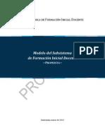 Propuesta de Modelo Del Subsistema de FID Version Final