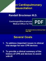 Clinical History of Cardiopulmonary Resuscita
