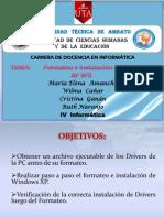 TALLER DE FORMATEO E INSTALACIÓN WIN XP SP3