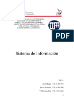 Sistema Informacion