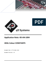 4d an 1004 4dgl Colour Constants Rev1
