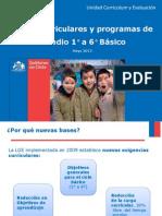 1- Presentación BASES CURRICULARES