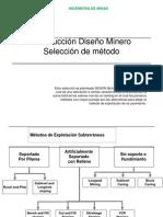 selección metodo de explotación nicolas1981
