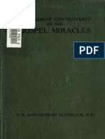 The Present Controversy on the Gospel Miracles, Hitchcock. 1915