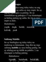 PALATULDIKAN ng WIKANG FILIPINO