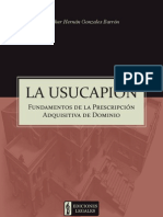 Usucapión