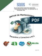Manual Mantenimiento Preventivo y Correctivo