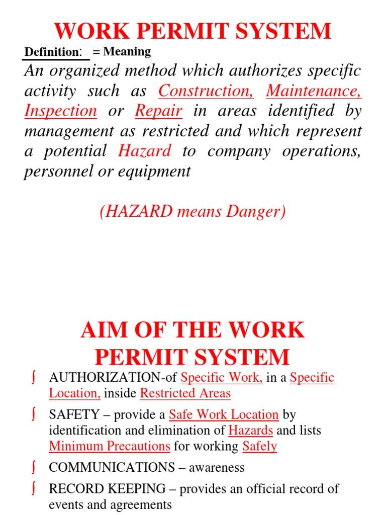 aramco work permit system rh scribd com saudi aramco construction safety manual handbook saudi aramco construction safety manual 2012 pdf