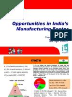 Opportunities in India's Manufacturing Sector - EEPC Buyer Seller Meet 030409