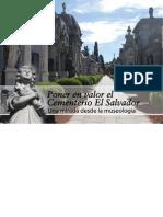 Poner en valor el Cementerio El Salvador, una mirada desde la museología