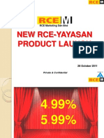 RCE - Yayasan New Product Briefing 281011v3