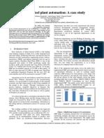 Rourkela Steel Plant Automation Case Study
