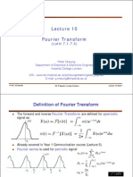 Lesson6b Fourier Transform