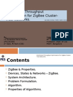 Distributed Throughput Optimization for ZigBee Cluster-Tree Network (1PI11SCS05)