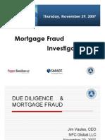 14243388 Mortgage Fraud Investigations