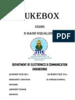 Jukebox Report on matlab