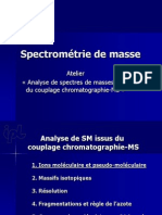 Analyse de Spectres Issus Du Couplage Gc Ou Lcms