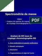 Analyse de Spectres Issus Du Couplage Gc Ou Lcms