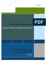 2009.06Design Criteria for Infrastrcture Projects-Rev 02 Final June