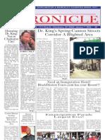 Chronicle Jan 7 09