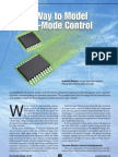 A New Way to Model Current-Mode Control-Part-I
