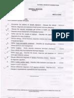DNB Questions Med Jun 2012