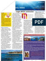 Business Events News for Mon 02 Apr 2012 - MCEC extension, IMEX, South Africa, Virgin winners and much more