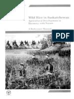 Wild Rice Appendix A