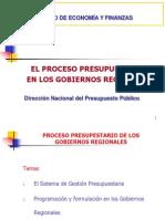 1 Proceso Presupuestario Gobiernos Regionales