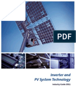 Industry Guide for PV and Inverter 2011