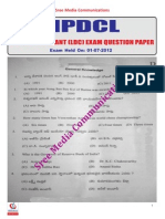 Npdcl Junior Asst Question Paper