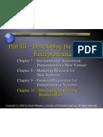 Week14 Developing BusinessPlan
