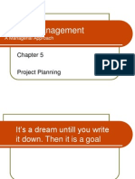 Chapter5 Project Planning