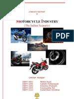 Report Motorbike Industry Group 'Honda'