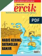 HABIS KERING DATANGLAH BANJIR. Media Informasi Air Minum dan Penyehatan Lingkungan PERCIK Edisi Oktober 2006.