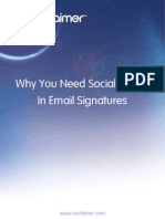 Why You Need Social Media in Email Signatures