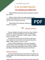 Manual de Alfabetizacao