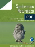 Cómo puedes ayudar a las aves de los cultivos leñosos de secano