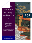 Buddhist Meditation in Theory and Practice - Vajirañāṇa Mahathera
